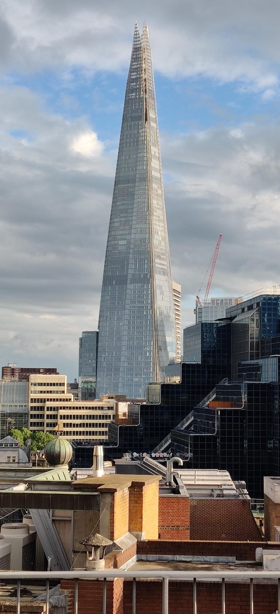 View from Penthouse - The Shard