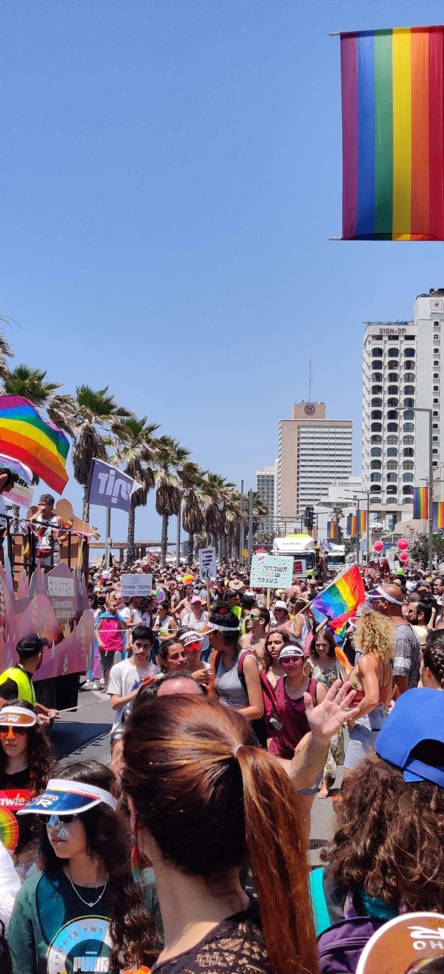 Tel Aviv Pride Parade 2019