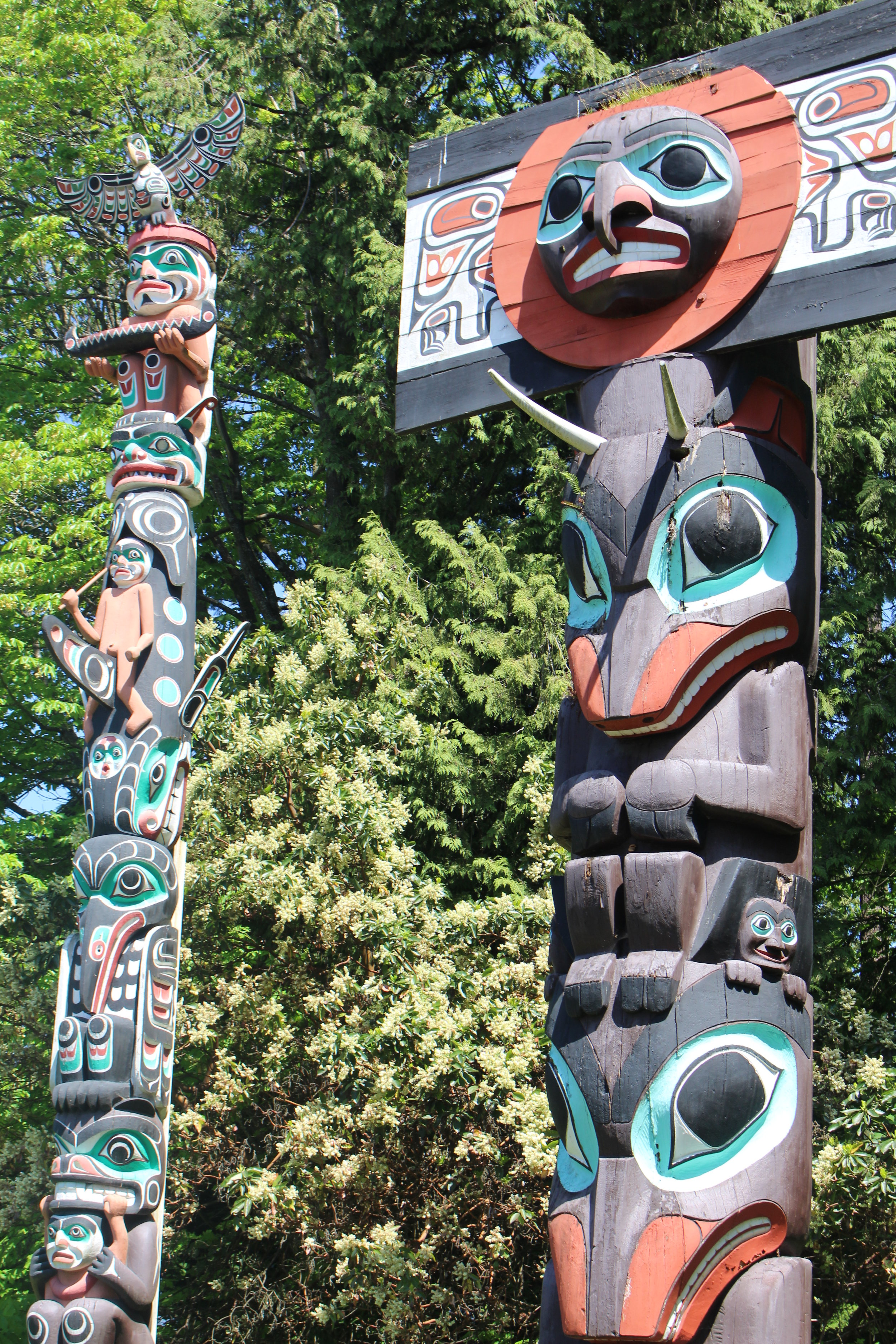 First Nations totems, Vancouver