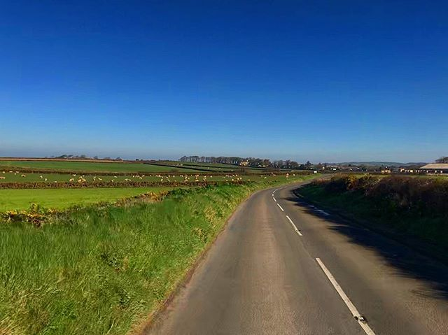 Stunning day out on the roads of the Isle of Man, it almost felt like spring; were you stuck in the office or at work today?  @ride.im offers a range of Corporate Cycling Experiences for businesses on the Island, to get you out and enjoying the outdoors, guided by a professional.