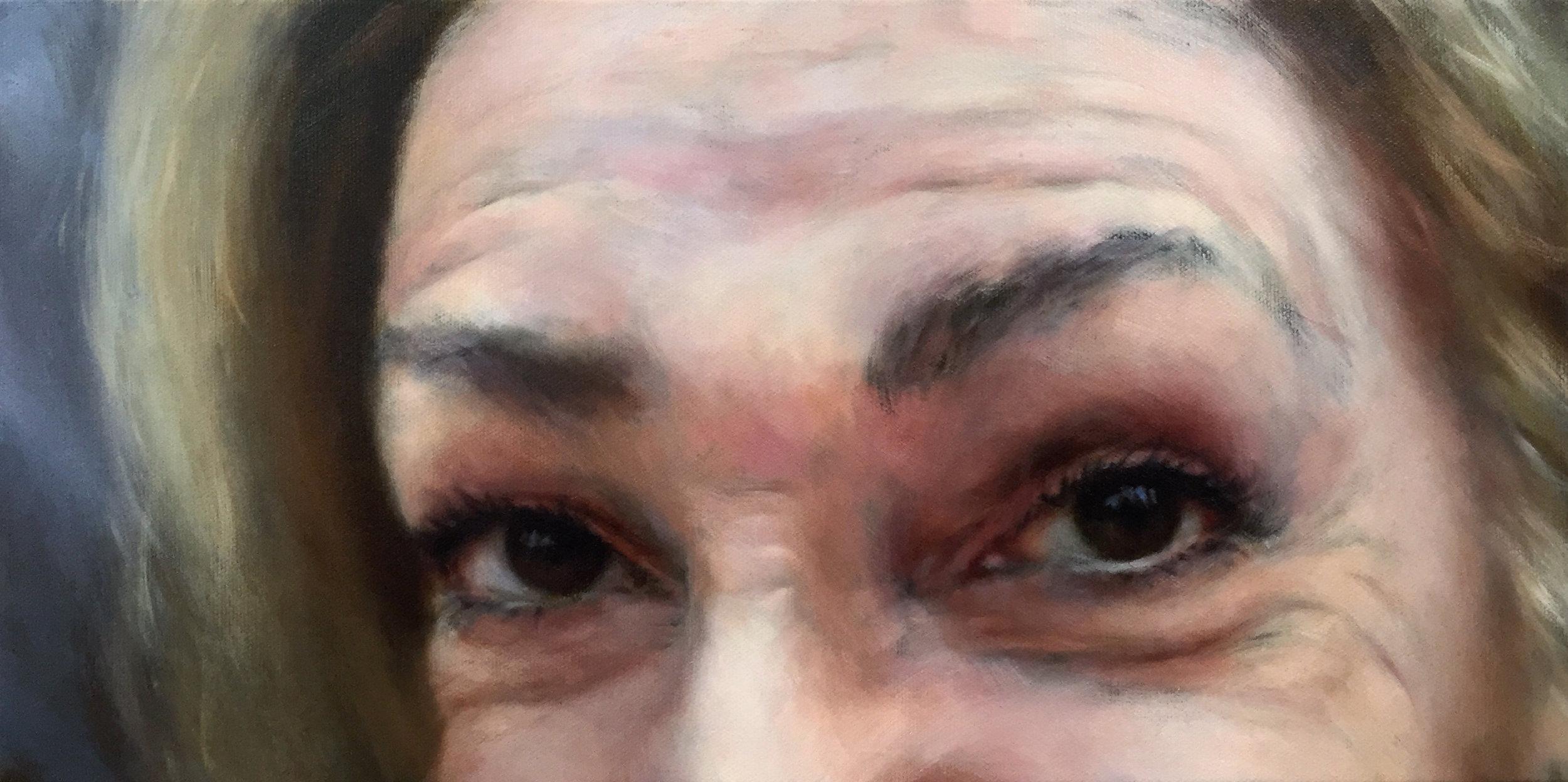 "ESPE  oil on canvas 8"" x 16"" 2016"