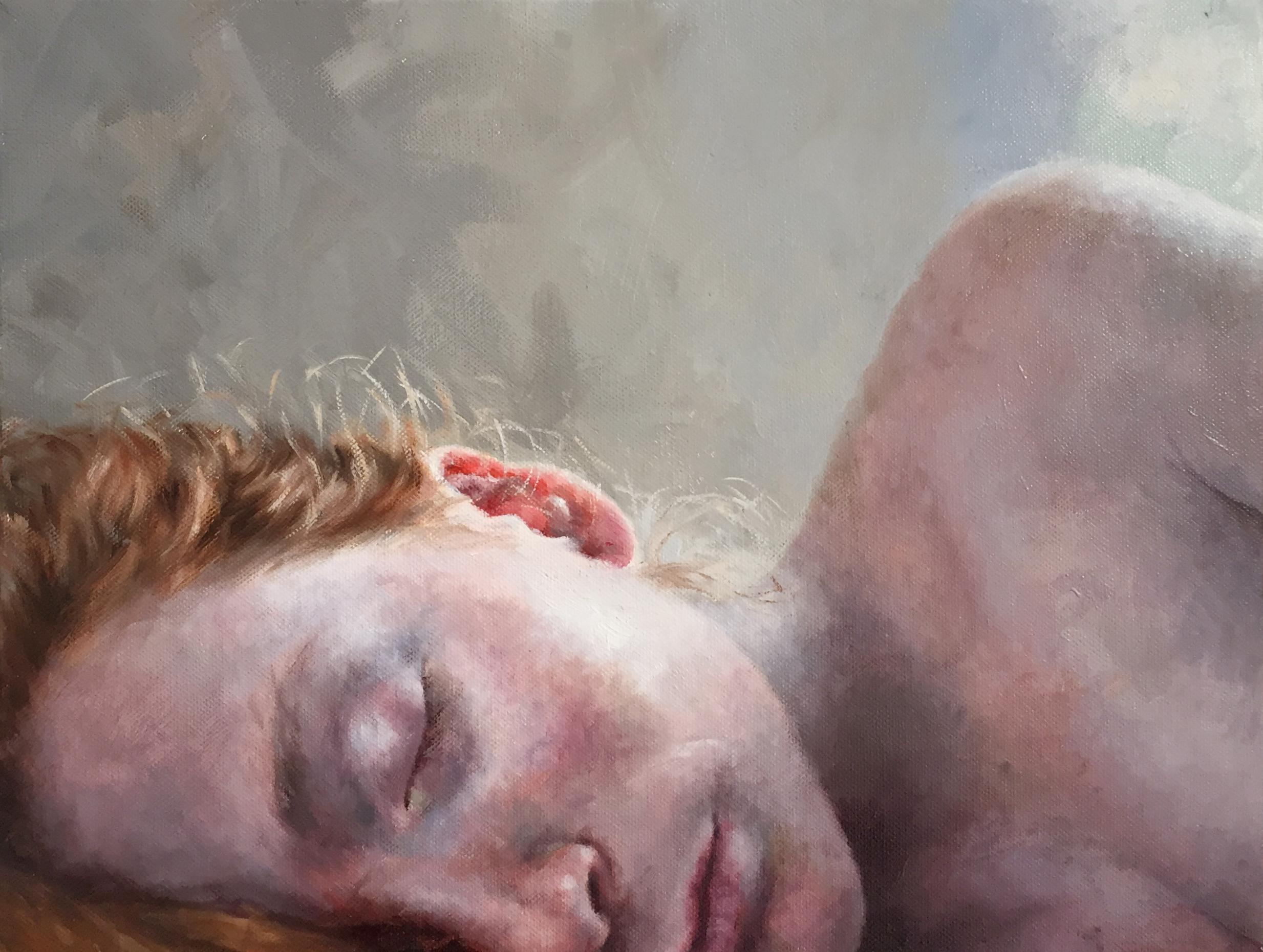 "ALONSA  oil on canvas 12"" x 16"" 2015"