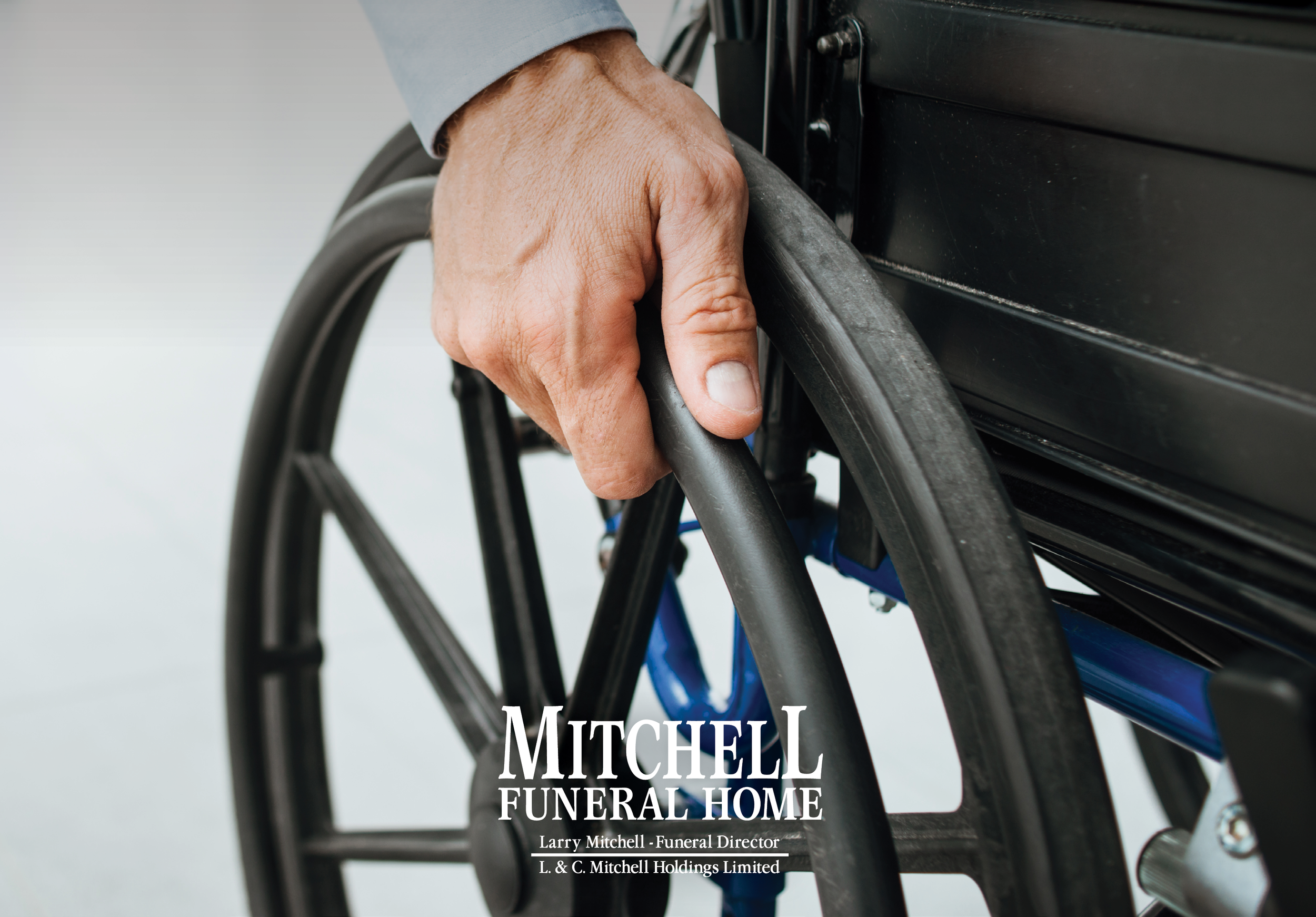 "Accessibilty - Mitchell Funeral Home is welcoming to all and fully accessible. ""Our wheelchair entrance used to be at the back, but it was very important to us that everyone, no matter your accessibly needs, enters through the same door. So, we were pleased to make that change to the building. When you come in through our front door, everything you need is on the main level."" - Larry Mitchell, owner and funeral director at Mitchell Funeral Home."