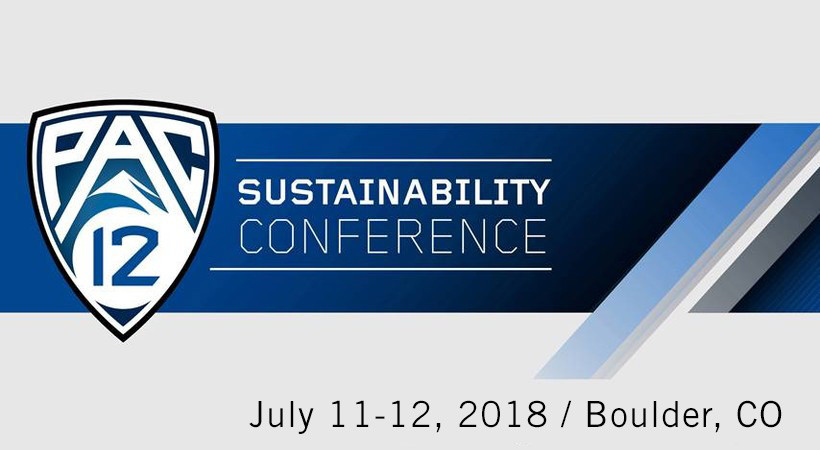 PAC-12 Sustainability Conference and Sustainability in Sports