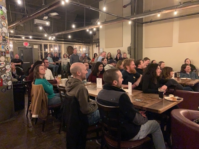 THE AMAZING CROWD AT FIREFLY HOLLOW BREWING