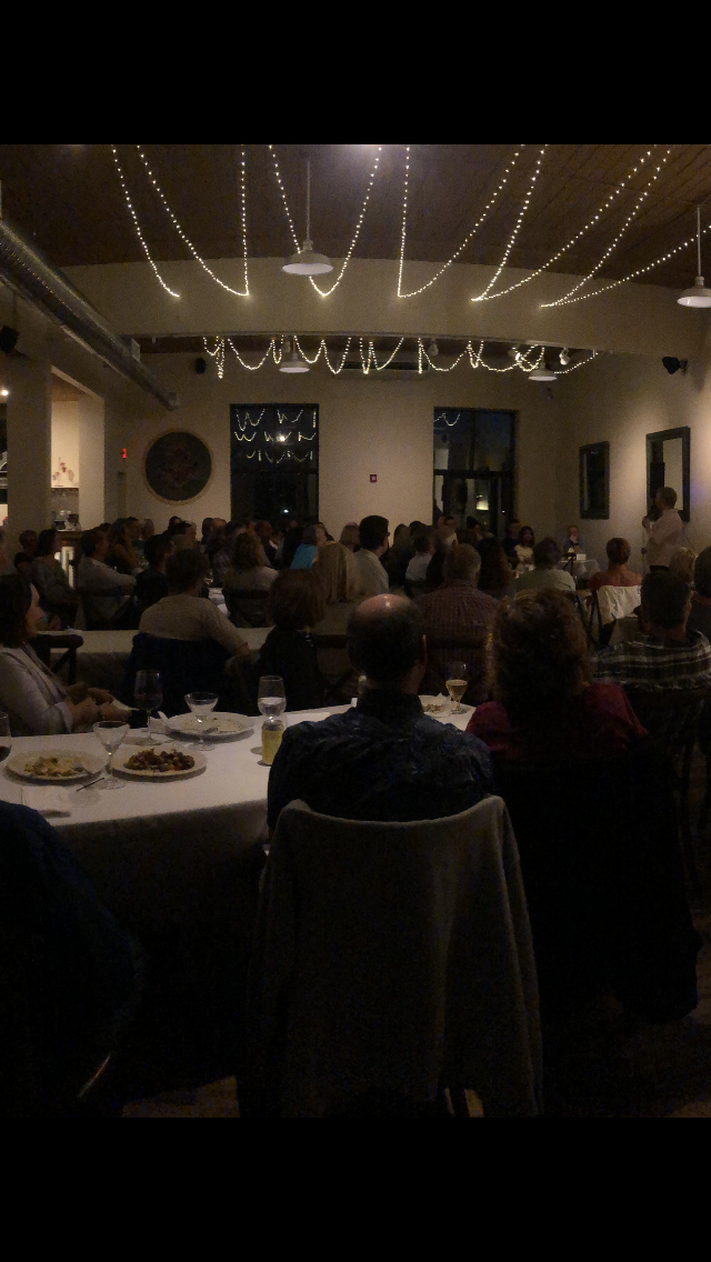 A FULL HOUSE AT METRO BIS IN SIMSBURY