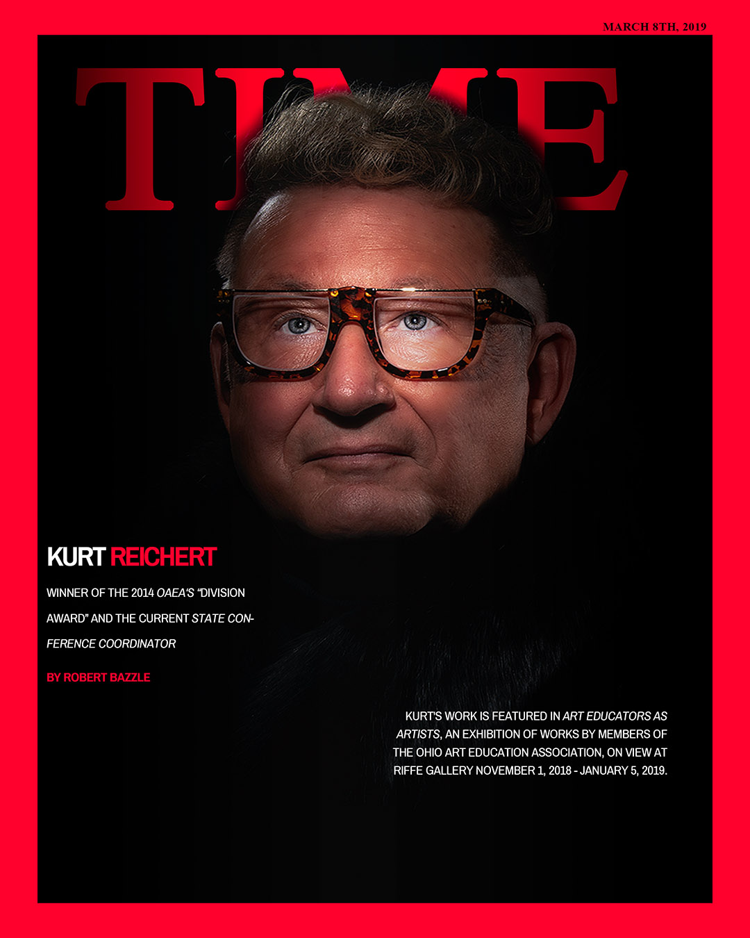 """So I Did! - After hearing that, I couldn't resist. So I created this mock-up """"TIME"""" cover and I loved it!"""