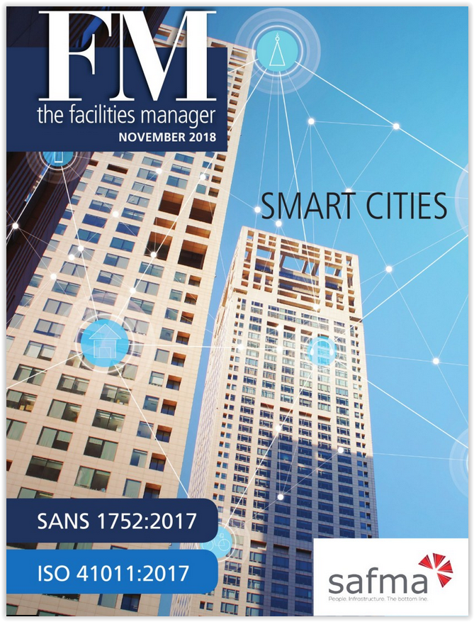An in-house magazine for SAFMA covering news and views on the world of facilities management -