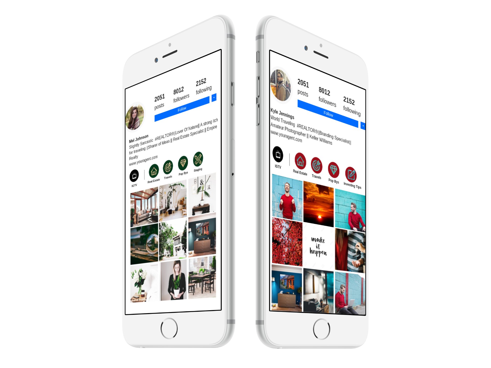 free Instagram Marketing Calendar - Get your hands on 30 FREE Instagram posts & 2 FREE real estate marketing videos!