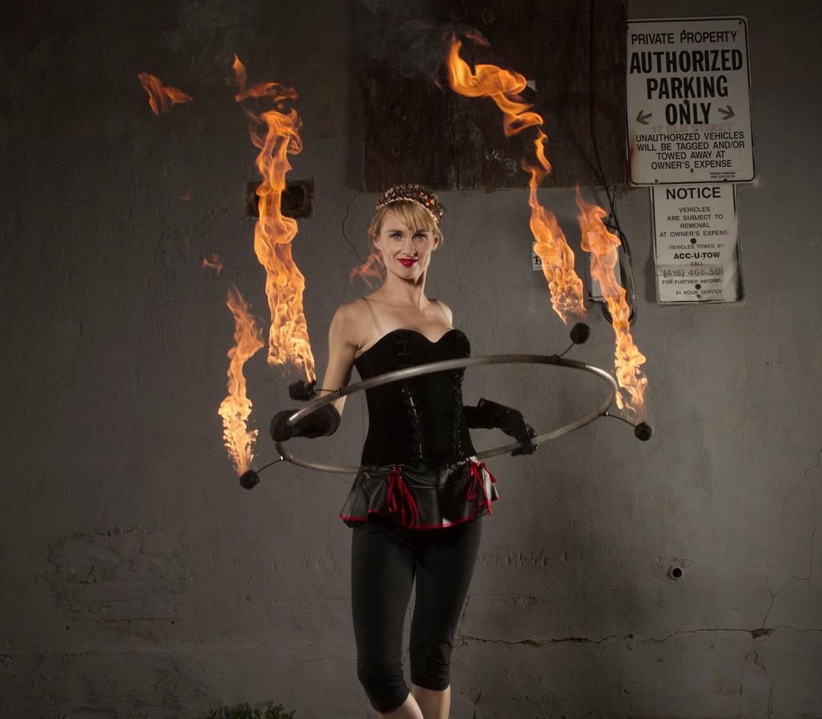 Fire performer Toronto