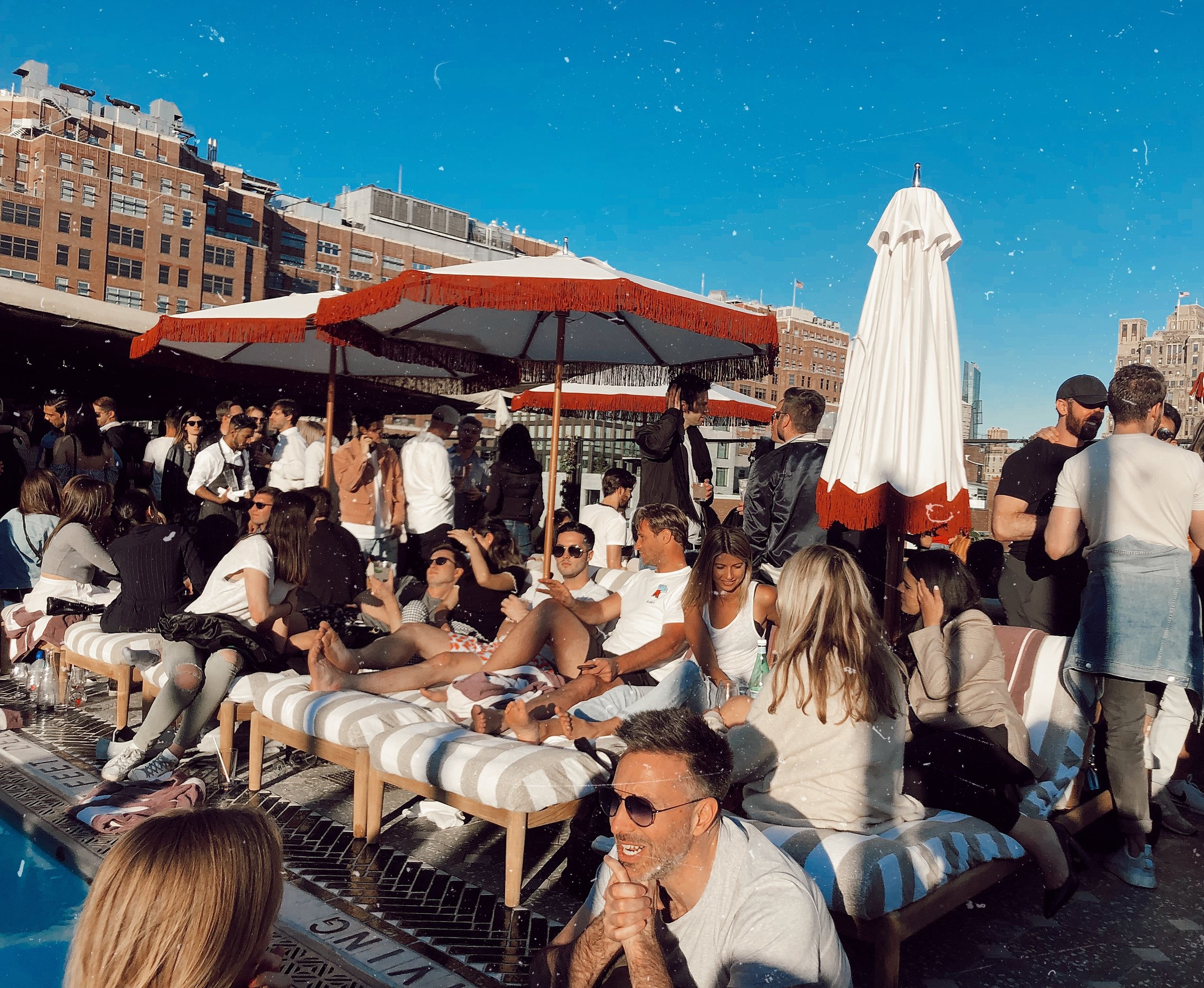 Soho House, rooftop NYC by day