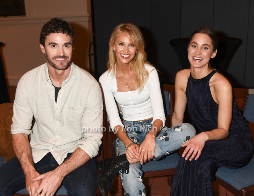 After show w friends (Thom Evans & Victoria Davis)