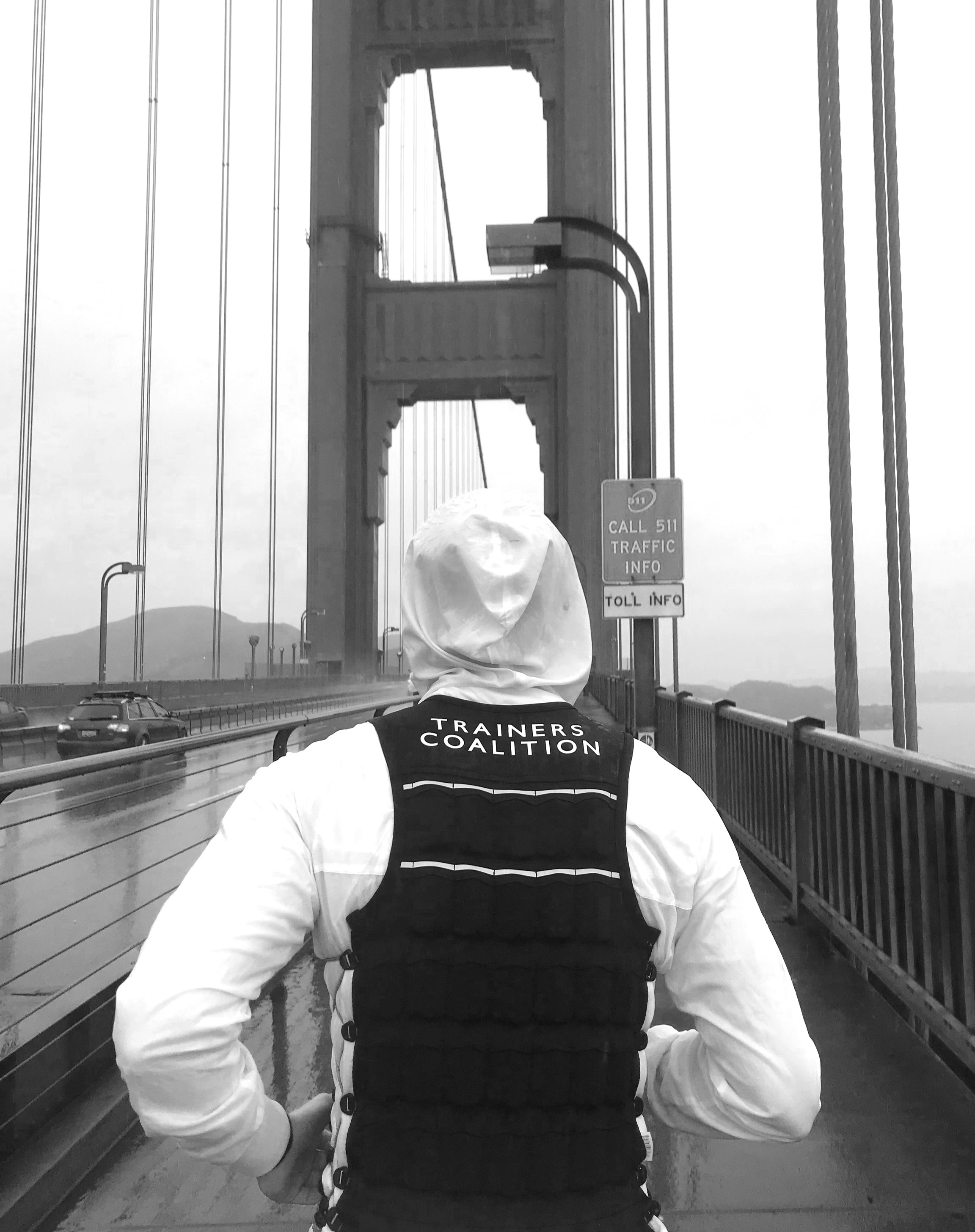 RUN 202020 - In April, Trainers Coalition founder Alan Li ran 20 marathons in 20 days in a 20-pound weighted vest from San Francisco to LA. Learn more about his journey to raise awareness for those without access to adequate fitness resources.