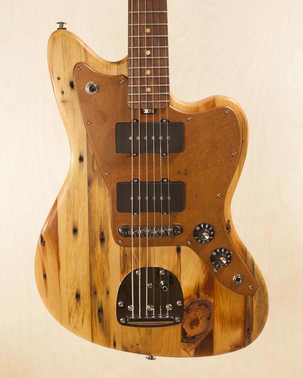 Pine Jazzmaster