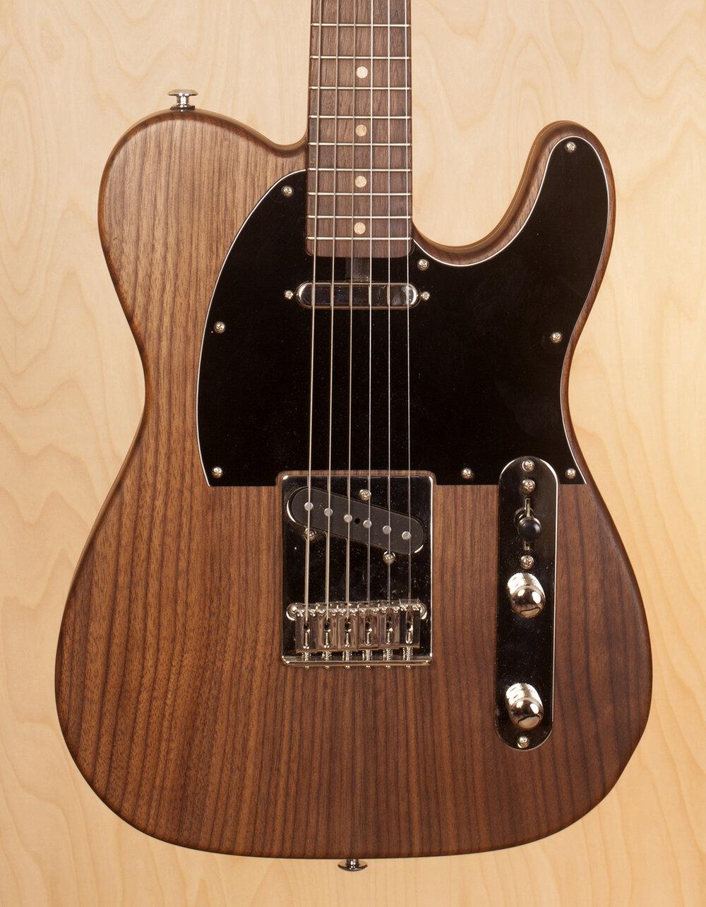 Walnut Tele Guitar