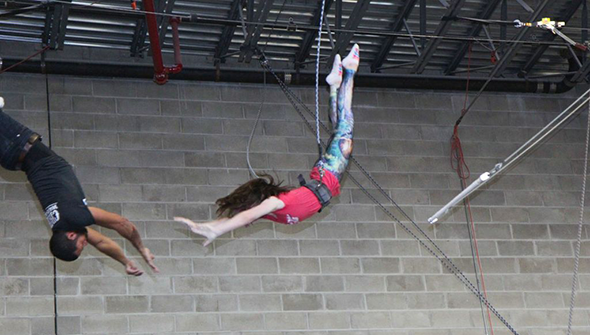 Trapeze + Circus Arts - Experience the thrill of flying on a trapeze at Circus Warehouse.Ages 10+ | $60