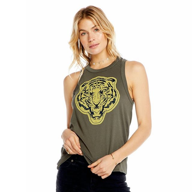 Tiger Tank $62⠀⠀⠀⠀⠀⠀⠀⠀⠀ ⠀⠀⠀⠀⠀⠀⠀⠀⠀ #covered #covereduptown #uptown #mpls #minnesota #shoplocal #shopsmall #shopcovered⠀⠀⠀⠀⠀⠀⠀⠀⠀ ⠀⠀⠀⠀⠀⠀⠀⠀⠀ Call or DM to order!