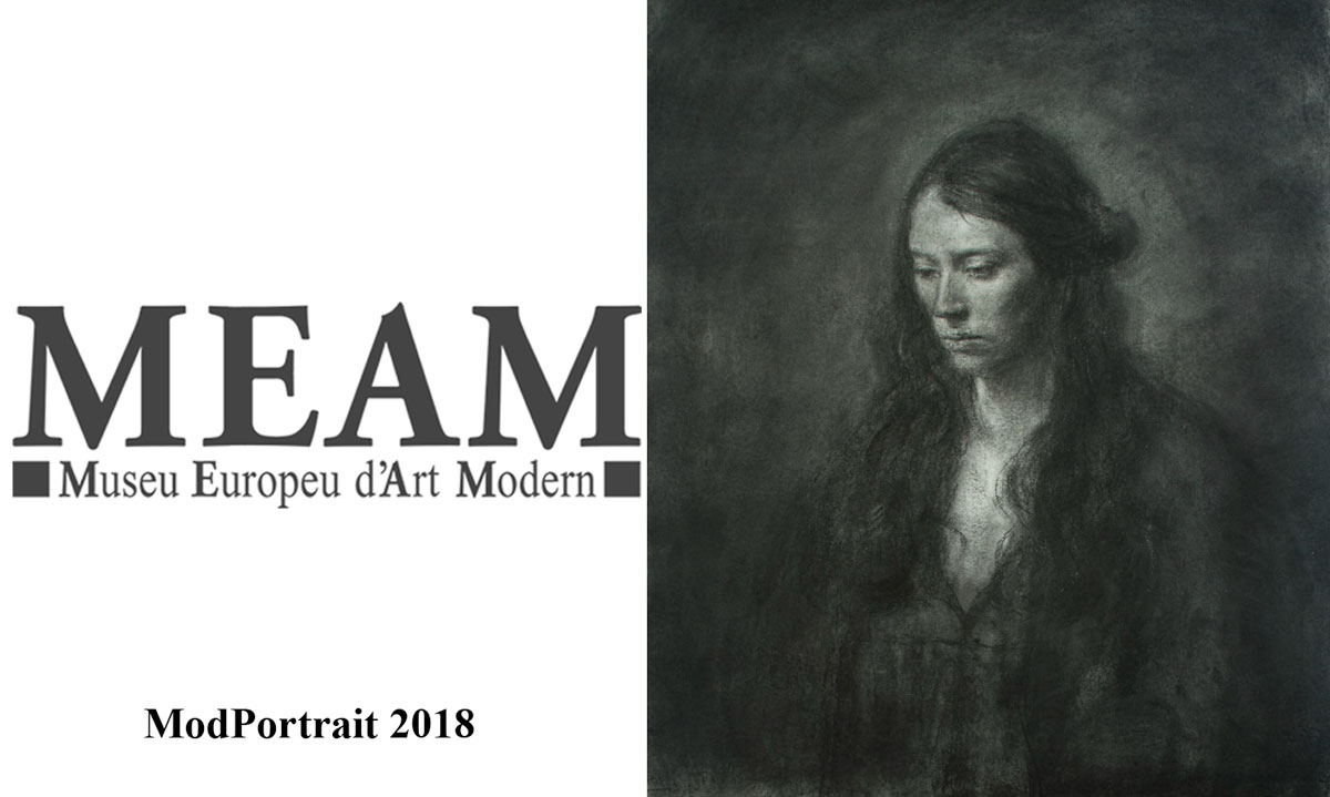The European Museum of Art Modern [ MEAM] presents from May 31 an exhibition with the finalist works of the VI Edition of the Contest ModPortrait 2018, the first international contest of figurative painting dedicated exclusively to the portrait. The exhibition brings together the best realistic art from the hand of more than 50 works selected by the jury, which be exhibited at the first floor of the European Museum of Modern Art until july 28.  Excerpts from MEAM