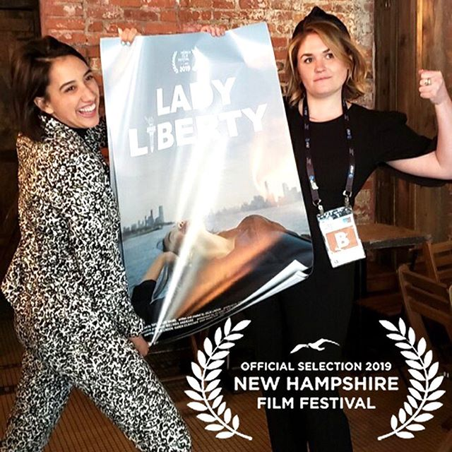 Live free or die 🌲🗽🌲@ladylibertytv is headed to @tnages home state for the New Hampshire Film Festival @nhff. Join our fave NH gal for the screening on October 17th!