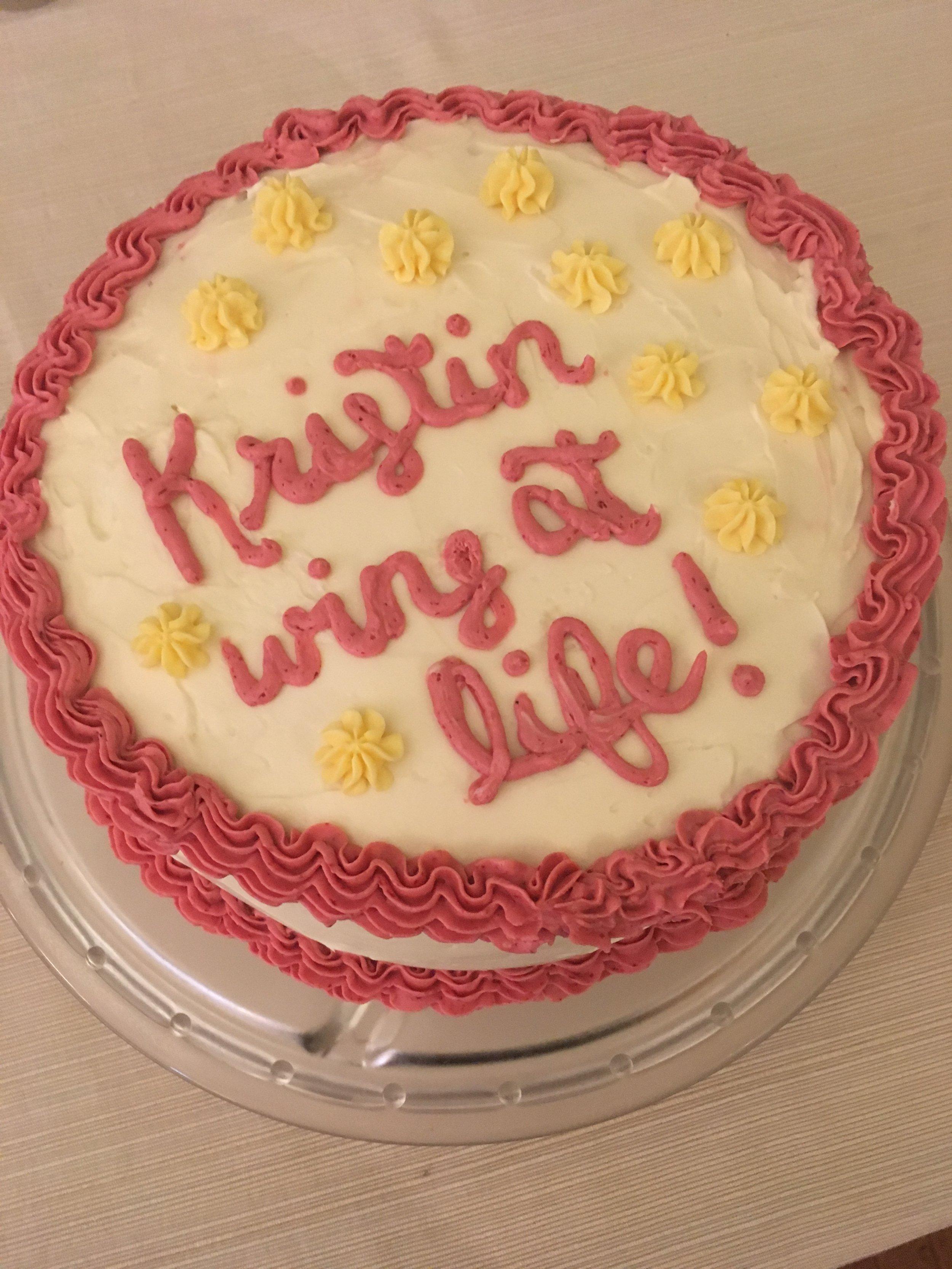 Kristin Wins at Life!