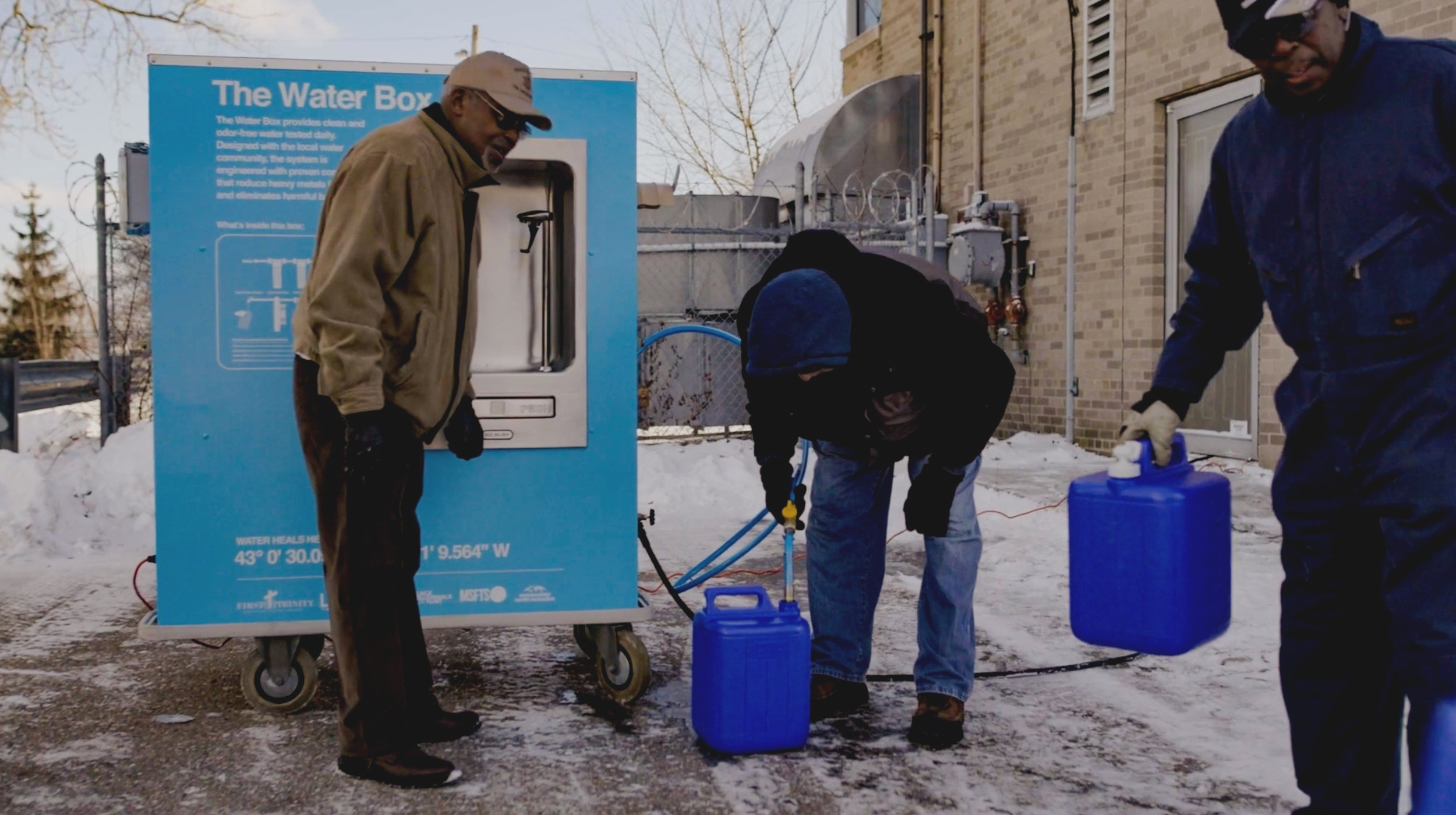 A NEW APPROACH - TO ADDRESSING A COMMUNITY'S WATER CRISIS