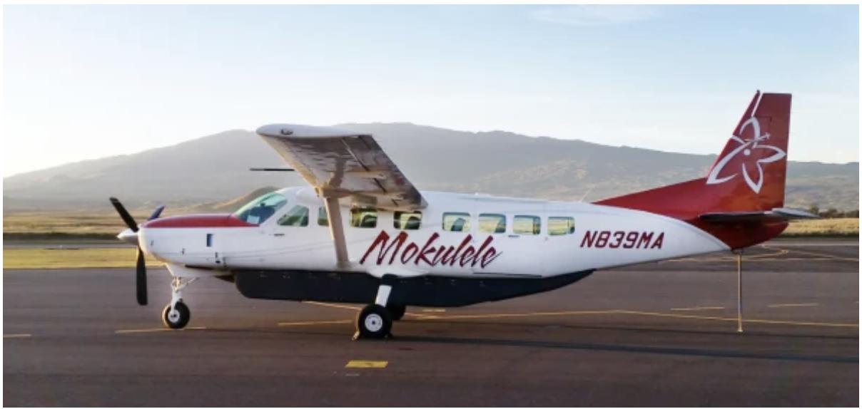 [Photo: Mokulele Airlines]