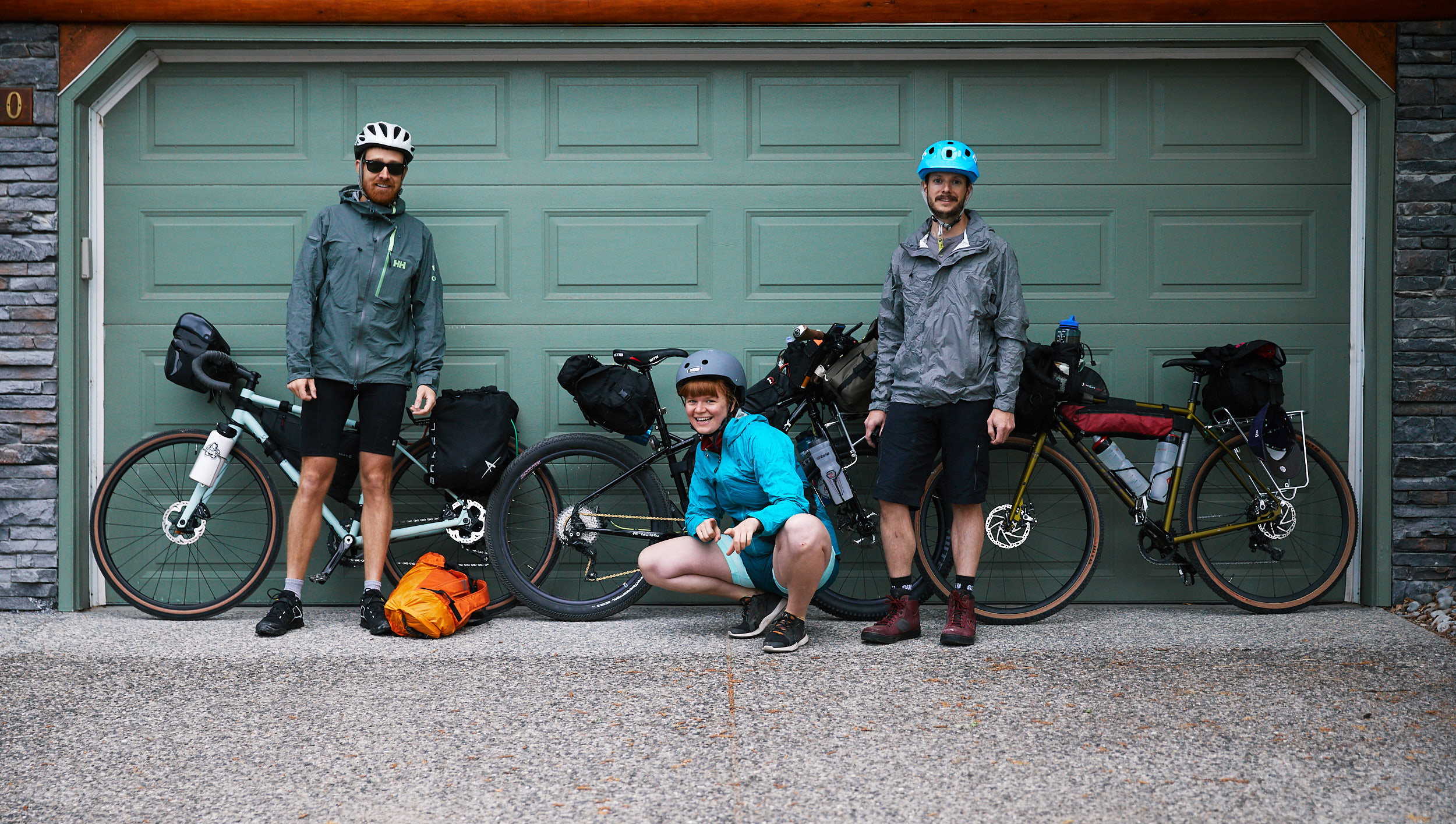 We started our trip in Canmore with some light rain early Saturday morning.
