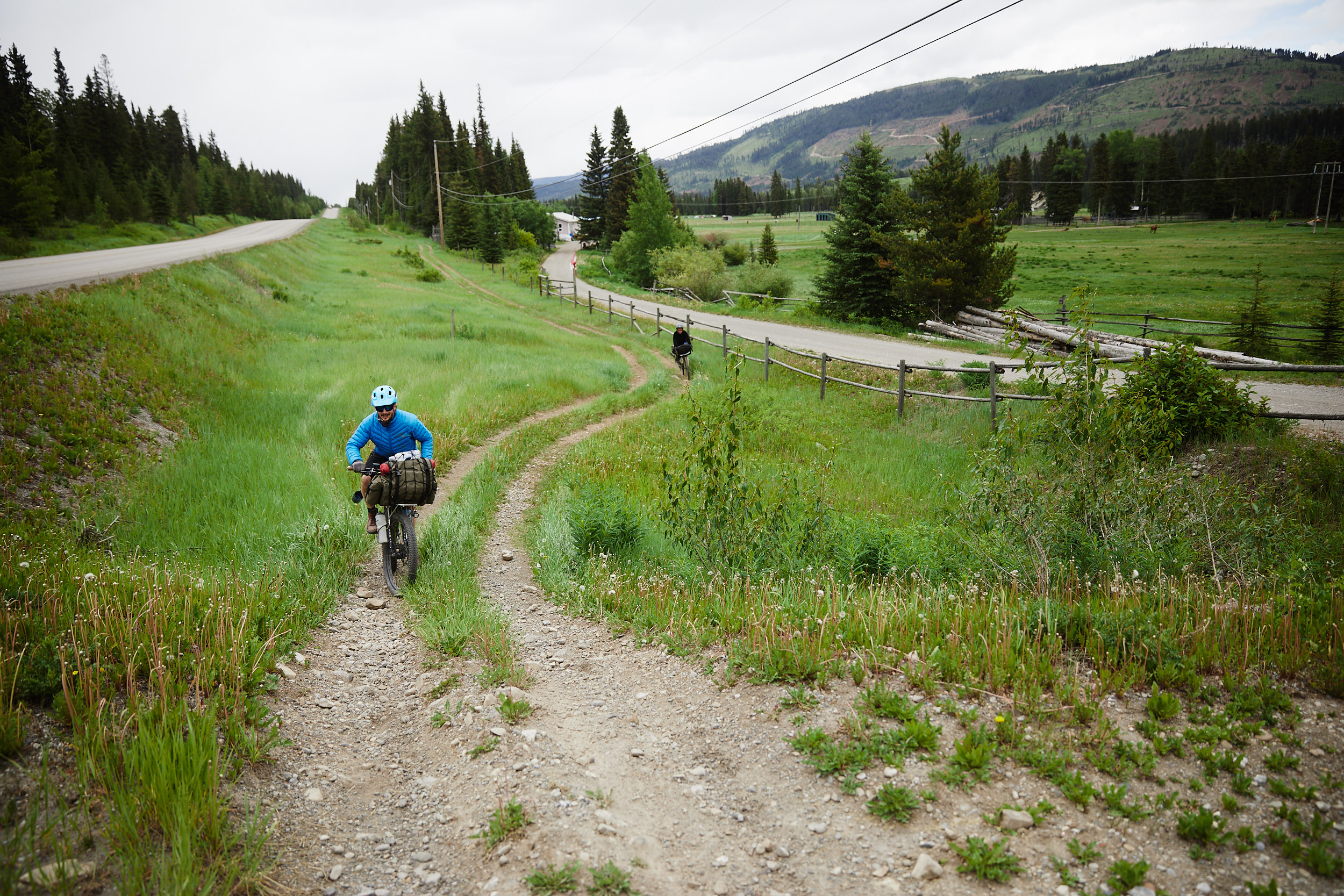 We began to make our way toward our next camp site which was just outside of Fernie