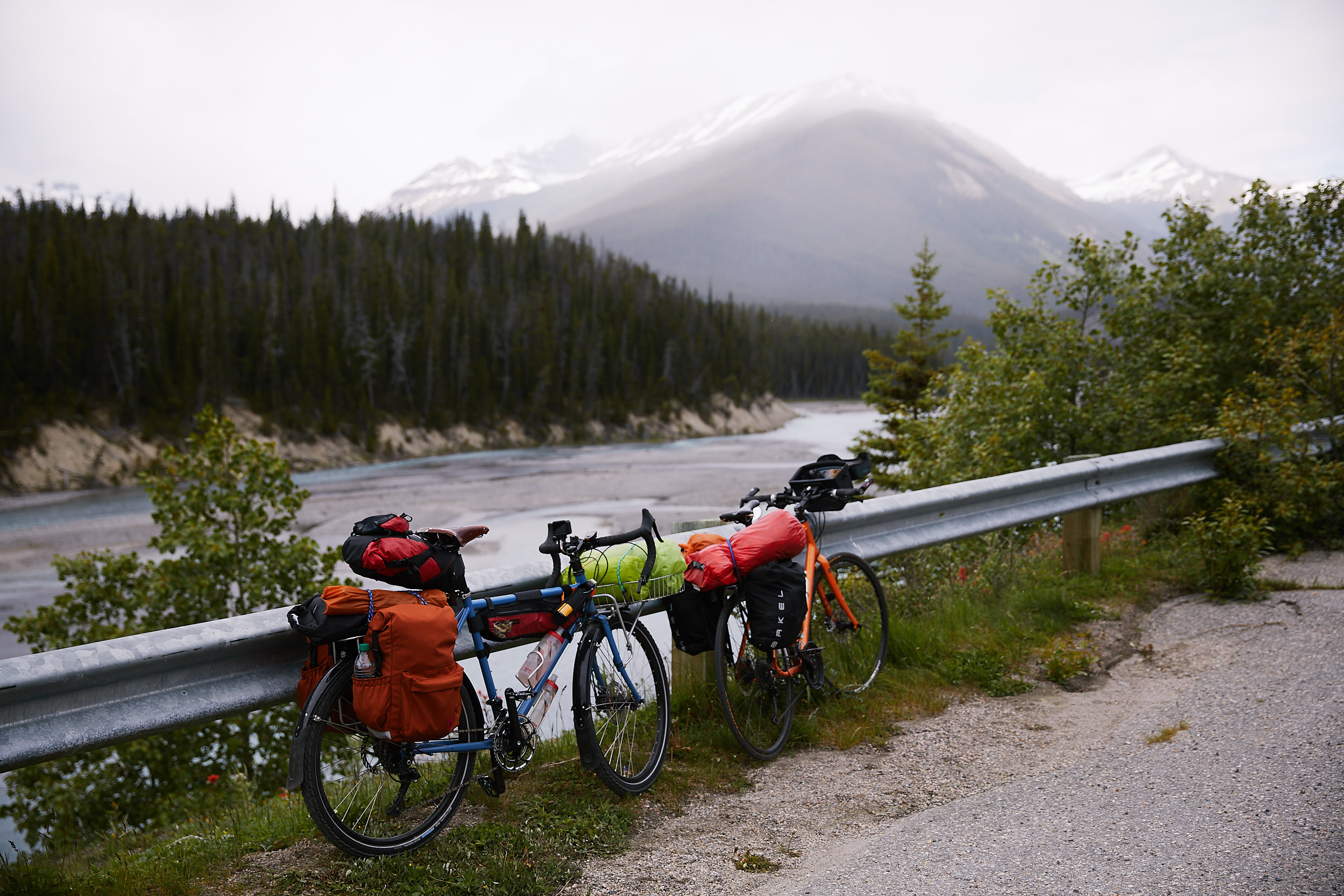 Icefields Parkway Cycle Tour - Lake Louise to Jasper 35.jpg