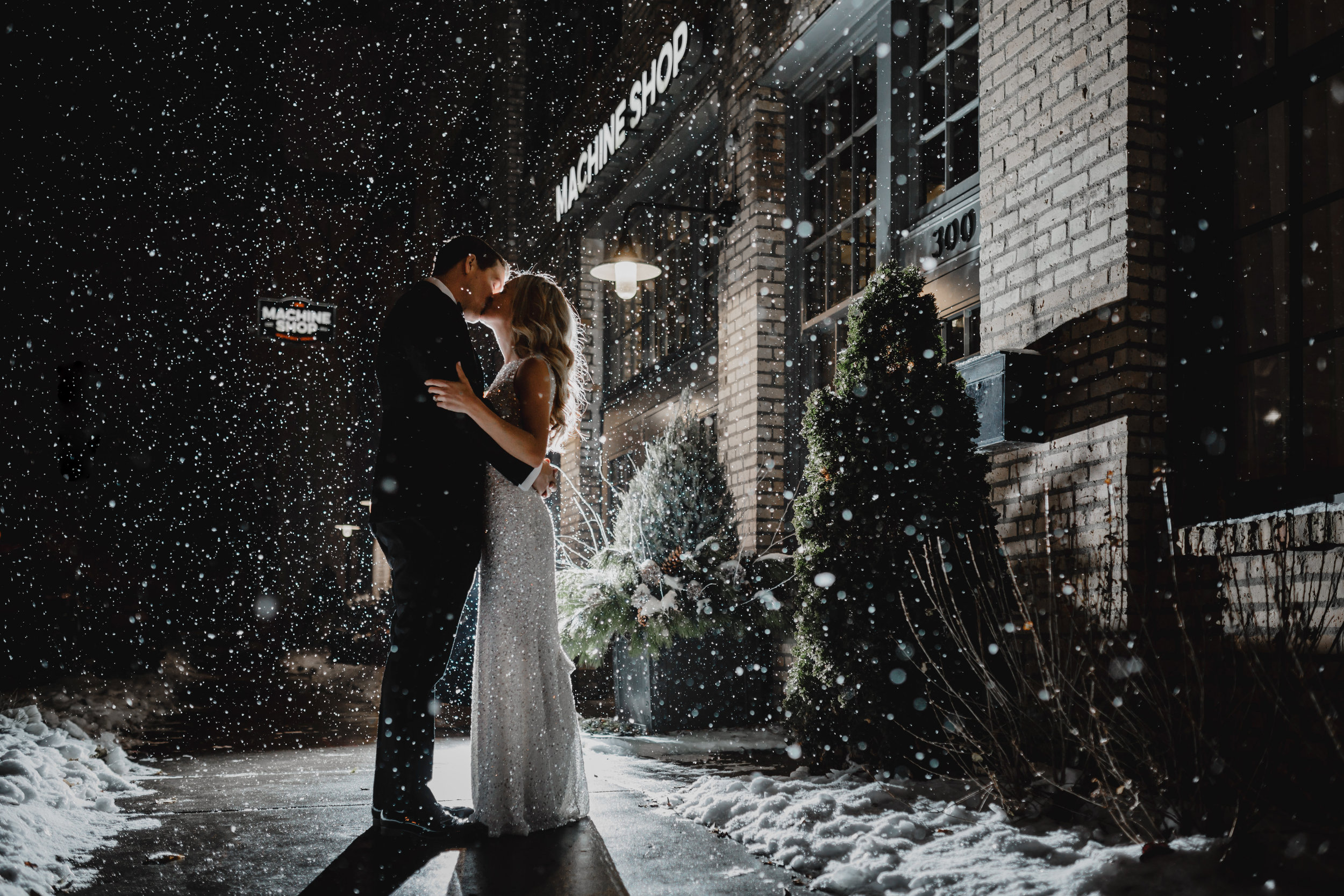 Betsy + Colin - Machine shop | Minneapolis
