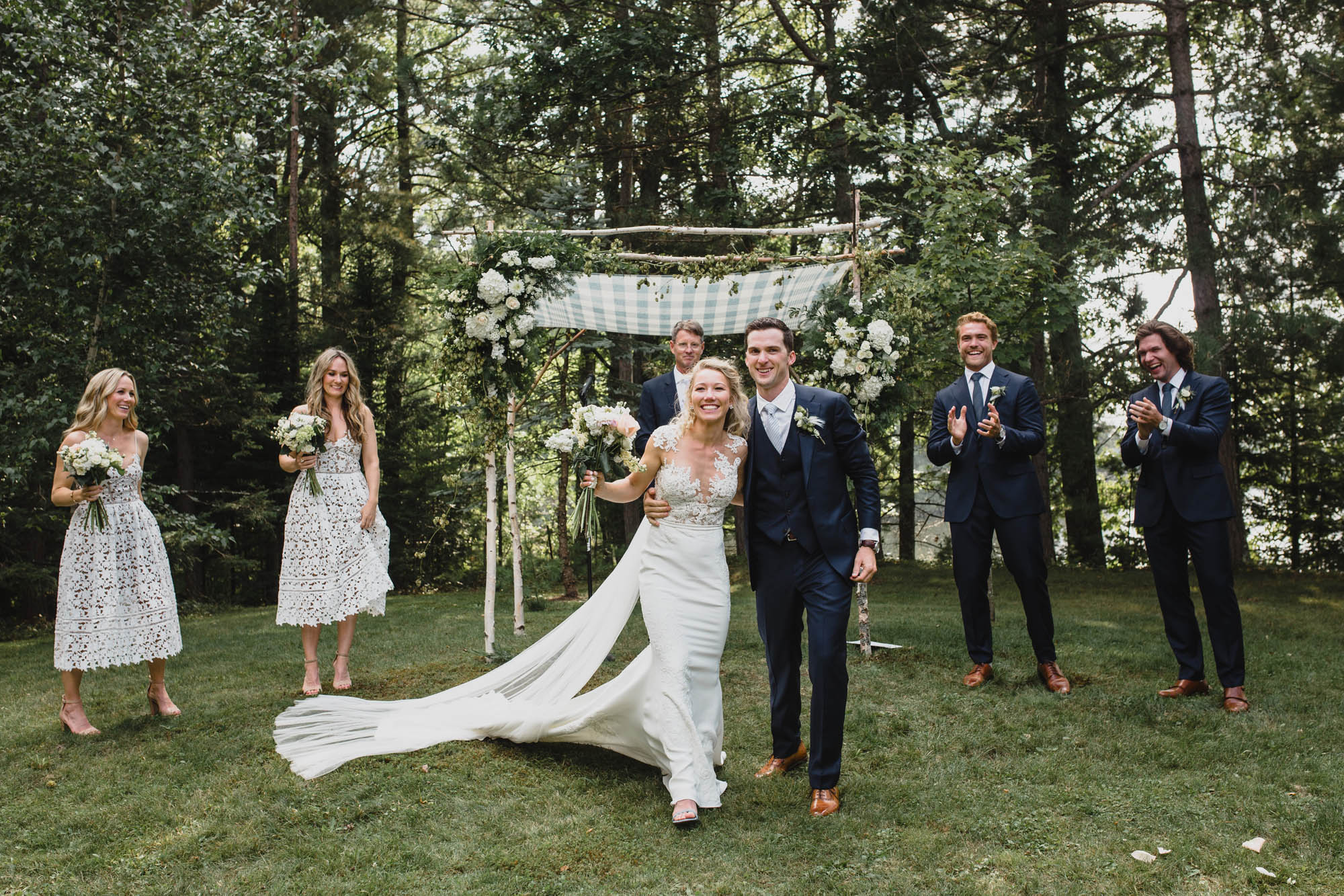 Abby + Matt - Hayward, WIsconsin