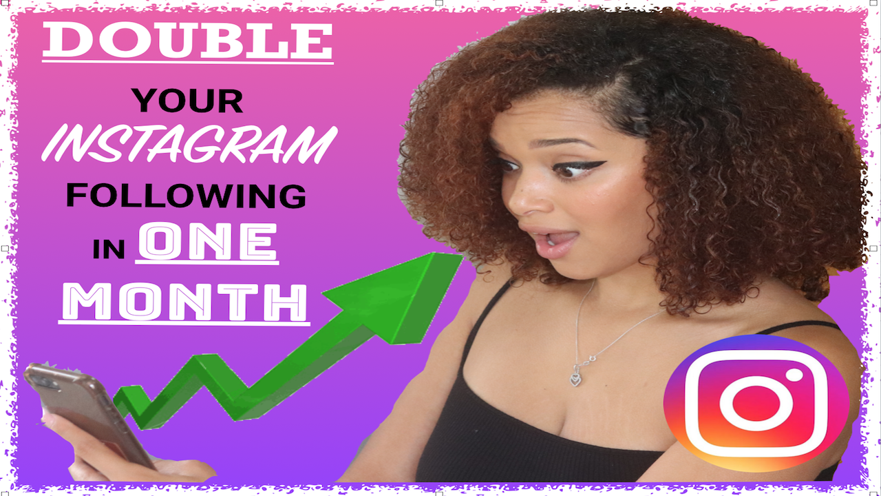 Watch this to see how to double your follow in a month!
