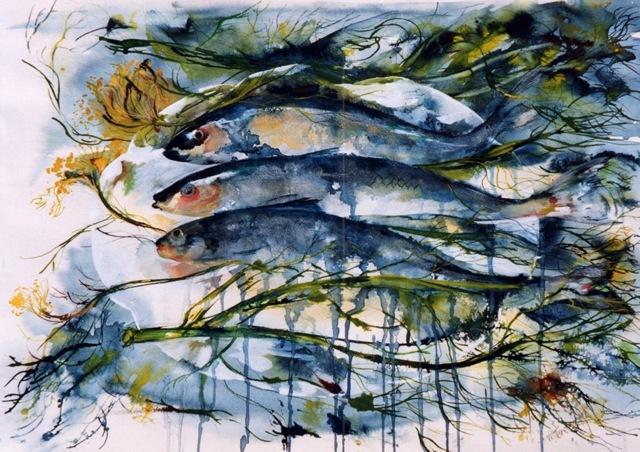 Fish in Seaweed