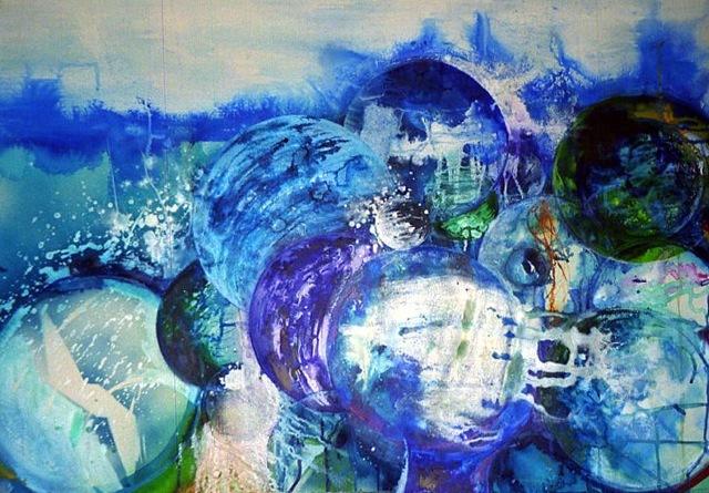 Underwater Marbles