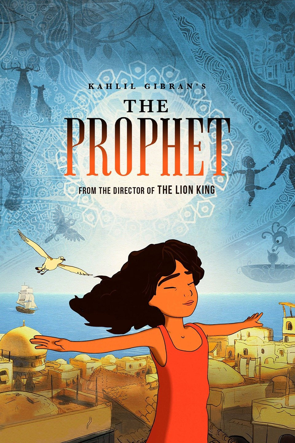 Kahlil Gibran's The Prophet, 2014 - Created by Roger Allers and Salma HayekA passion project combining a 3D animated overarching story, with snippets of 2D animation for the poetry. Characters are 3D toonshaded with toon outlines, sets are a combination of 3D painterly props and 2D matte paintings.Role: Junior 3D modeler / texture artistContributed to look-dev / creative solves for the glass objects, and opening sequence.