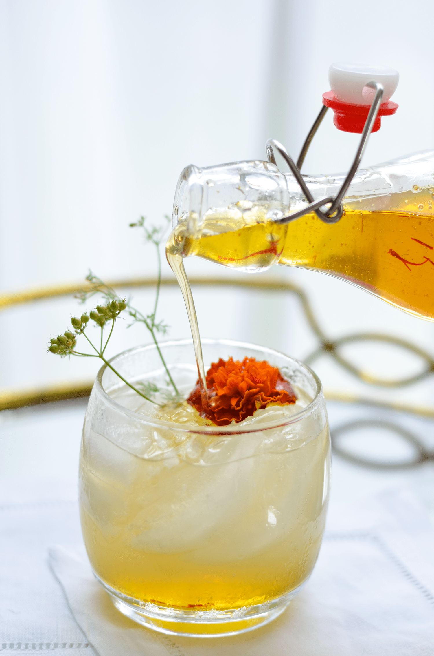 Flavored Simple Syrups | A Beautiful Mess   Styling and photography by Mary Helen Leonard