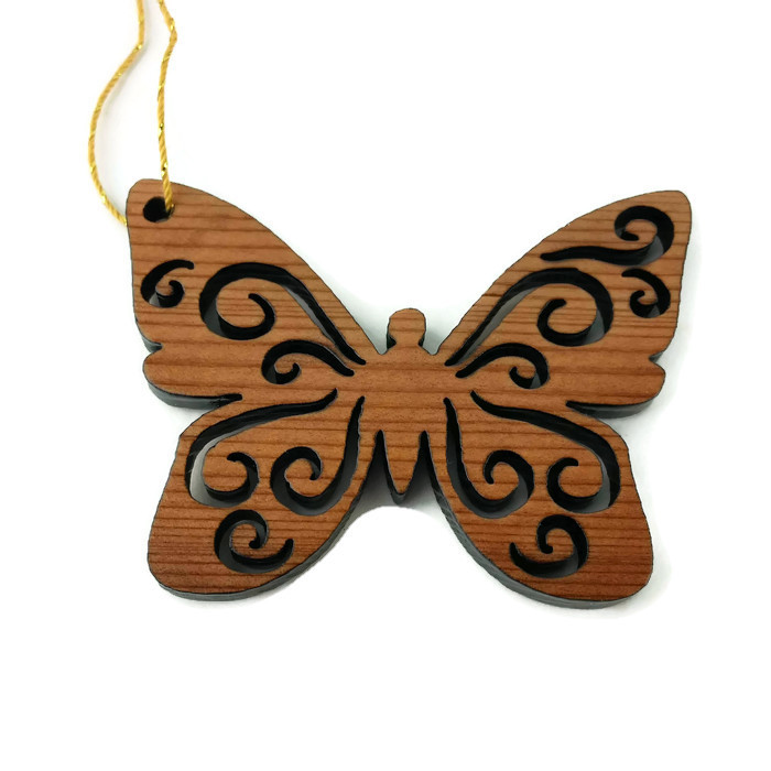 Redwood Red Butterfly Ornament White Fuzed Background (2).jpg