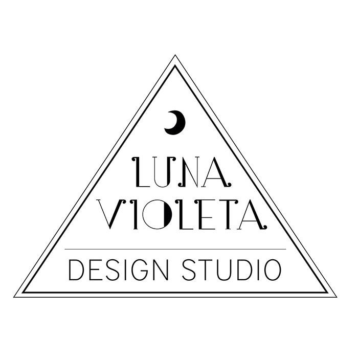 Luna Violeta | logo design