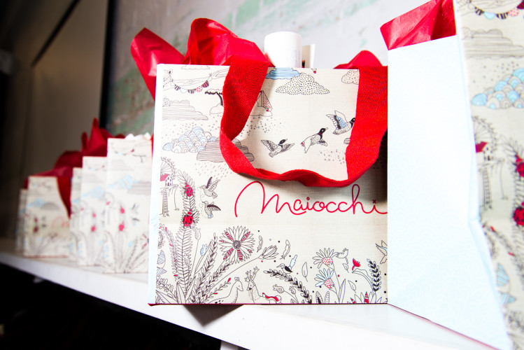 maiocchi gift bag design