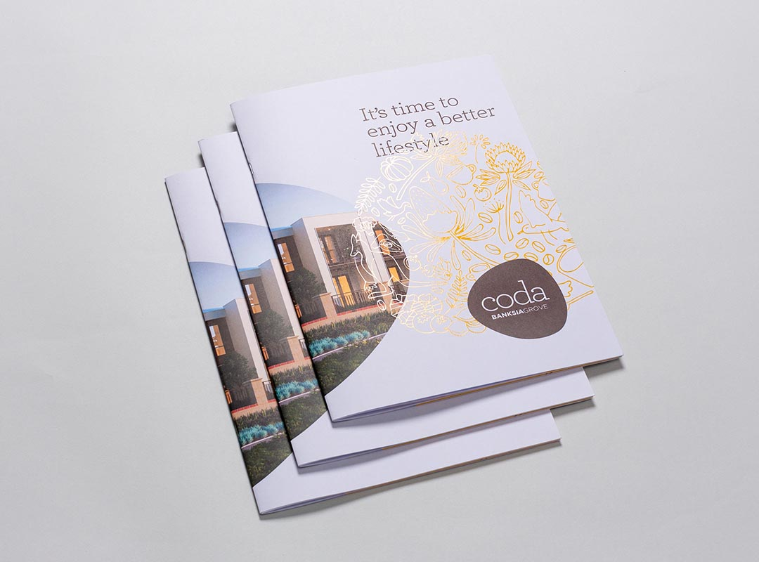 Coda - banksia grove Brochure illustrations - Photo courtesy of gatecrasher