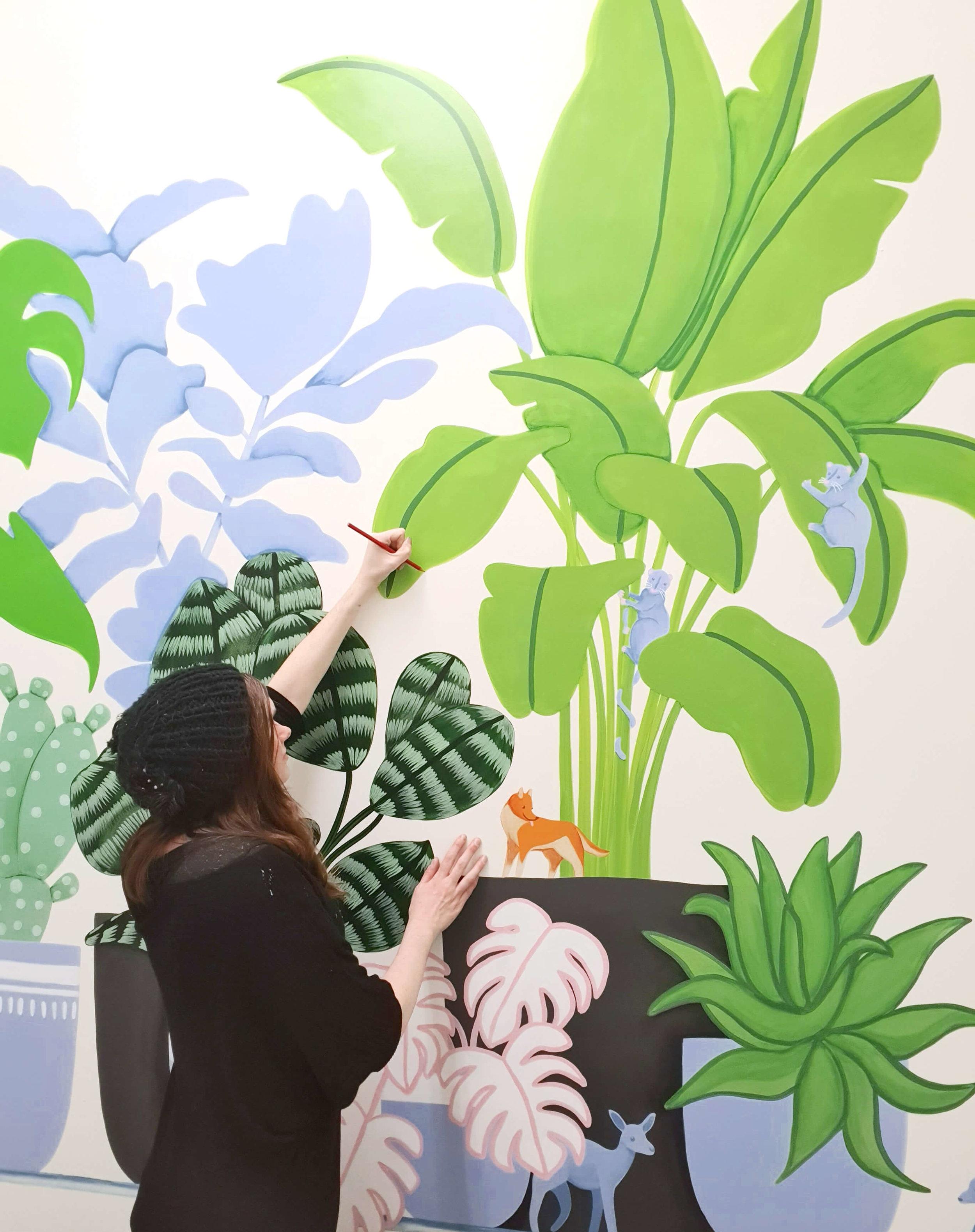 Speld Victoria Exam Room Mural, Melbourne