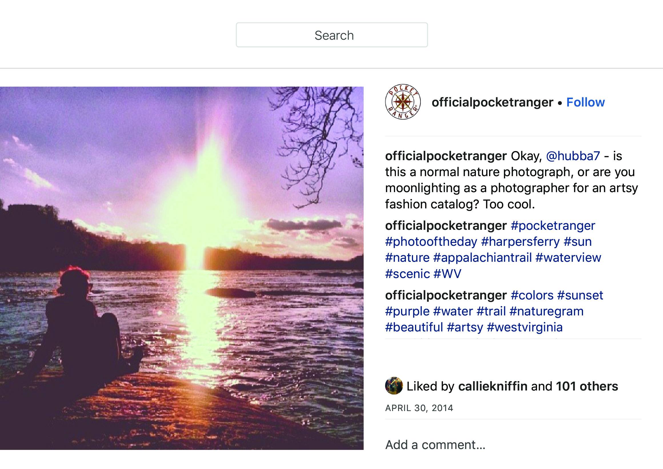 """OfficialPocketRanger on Instagram_ """"Okay, @hubba7 - is this a normal nature photograph, or are you moonlighting as a photographer for an artsy fashion catalog_ Too cool."""" copy.jpg"""