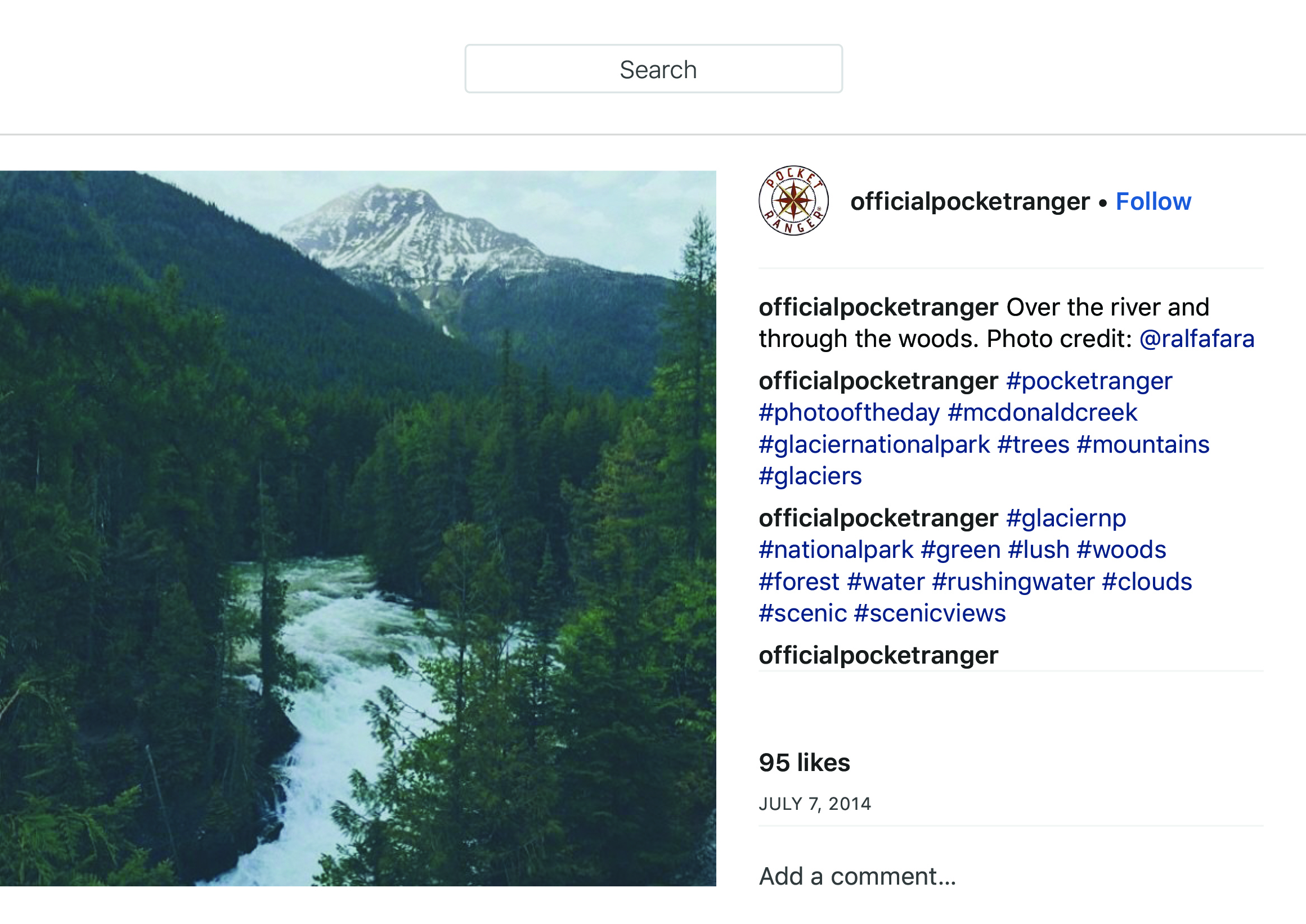 """OfficialPocketRanger on Instagram_ """"Over the river and through the woods. Photo credit_ @ralfafara"""" copy.jpg"""