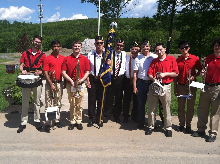 Patriot Brass with Veterans