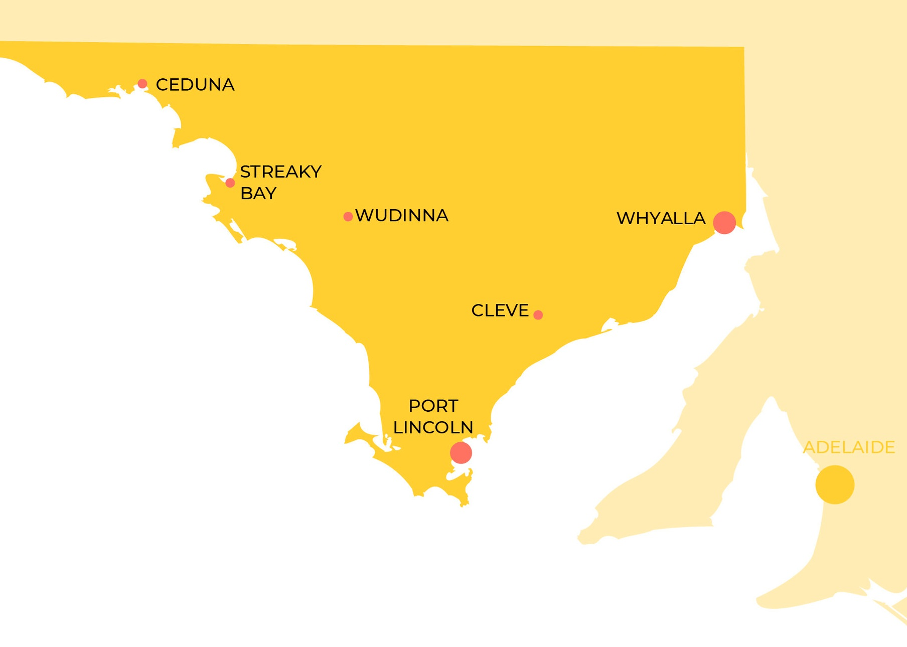 Truck Driver Training locations on Eyre Peninsula