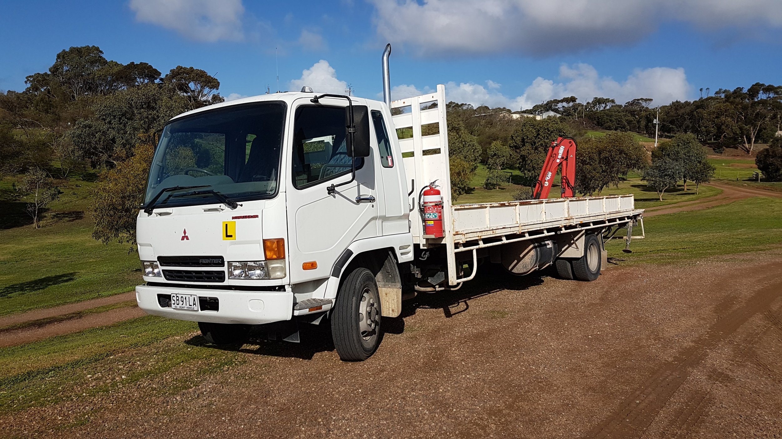 Light Rigid (LR) and Medium Rigid (MR) Driver Training Truck