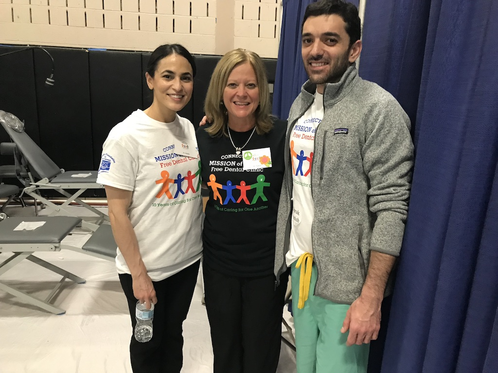 Dr. Nubani & Dr. Cyrus spent the day at the Connecticut Mission of Mercy in the pediatric clinic providing free dental care to patients of all ages. It is an event they have participated in for many many years! - April 2019