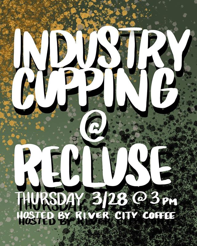As they get closer to opening up their Scott's Addition shop, the @recluseroastingproject team has invited the RVA coffee community in to hang out, cup some coffees, and check out their sick new space! We hope you can make it!