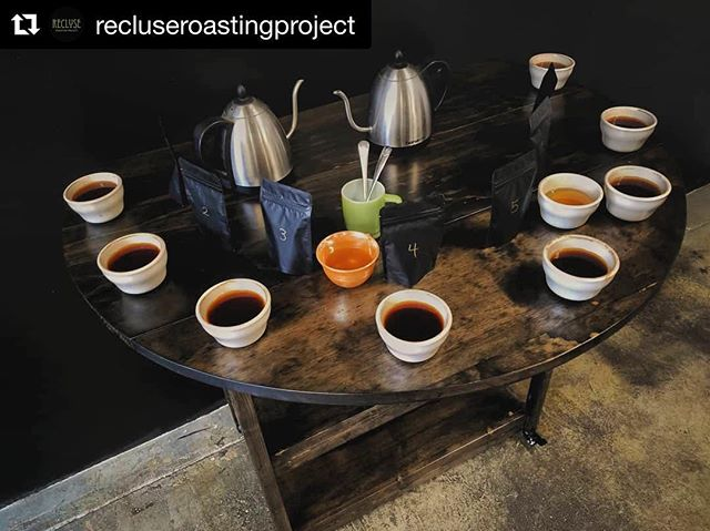 Are you pumped after the Throwdown and excited for the next RCC event? Yeah, us too! We'll be having an industry cupping at @recluseroastingproject toward the end of this month! More details coming soon!