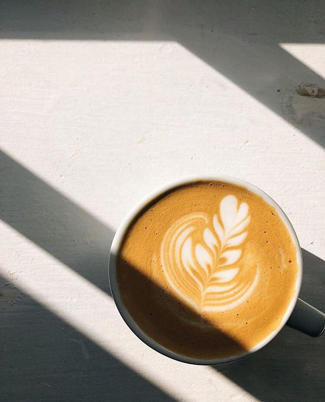 """It's Wednesday, coffee pros. Enjoy the last few days before """"spring forward"""" steals your hour and wrecks your weekend. This photo is from @sidebarcoffeebar in Leesburg."""